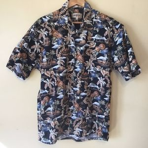 Other - Classic Hawaiian Short Sleeve Summer Time Buttonup